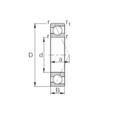 7036 CYSD Angular Contact Ball Bearings