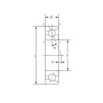 7017AC NACHI Angular Contact Ball Bearings