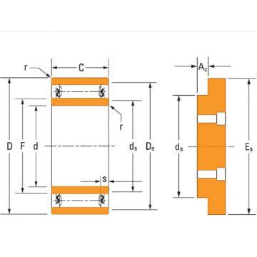 Ta4032v needle bearing