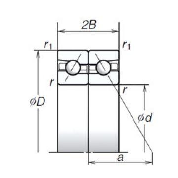 65BTR10H NSK Angular Contact Ball Bearings