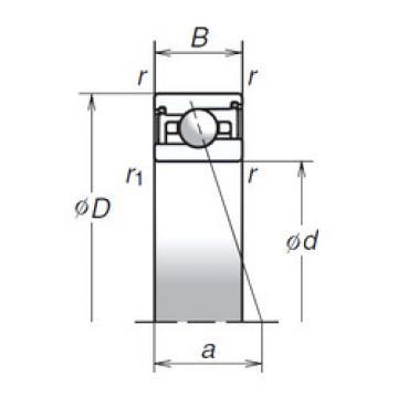 55BNR29XV1V NSK Angular Contact Ball Bearings