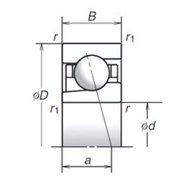 6BGR10H NSK Angular Contact Ball Bearings