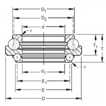 541DTVL731 Timken Angular Contact Ball Bearings