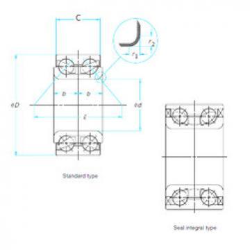 510082 Timken Angular Contact Ball Bearings