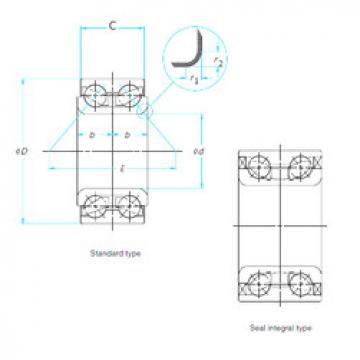 617546A/HT22 SKF Angular Contact Ball Bearings