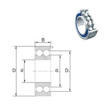 5306-2RS ZEN Angular Contact Ball Bearings