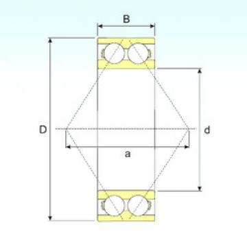 5312 CYSD Angular Contact Ball Bearings