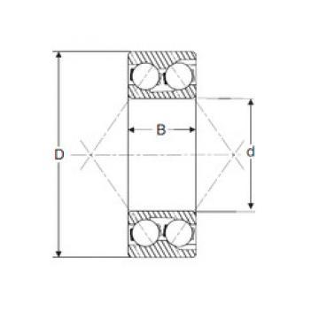 5412 SIGMA Angular Contact Ball Bearings