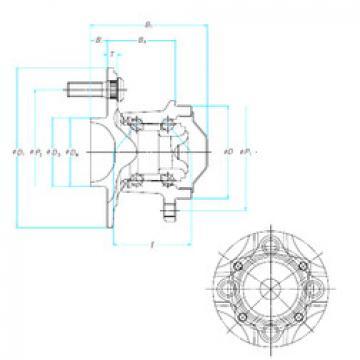 53BWKH01 NSK Angular Contact Ball Bearings