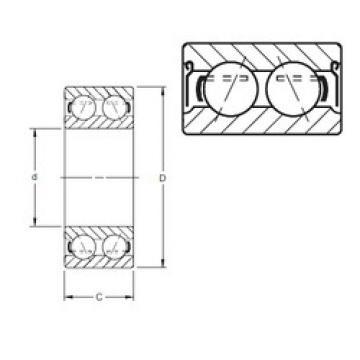 5216DD PRB Timken Angular Contact Ball Bearings