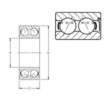 5306WD Timken Angular Contact Ball Bearings