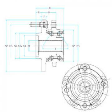 66BWKH02A NSK Angular Contact Ball Bearings