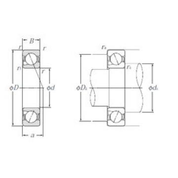 5S-BNT004 NTN Angular Contact Ball Bearings