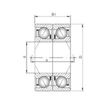7000 B-UO CX Angular Contact Ball Bearings