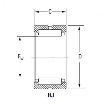 IR-607240 HJ-729640 CYLINDRICAL ROLLER BEARINGS