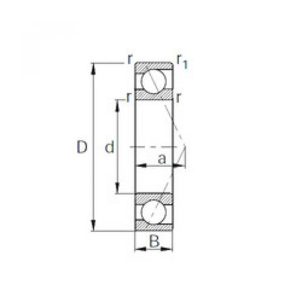 7002 CYSD Angular Contact Ball Bearings #1 image